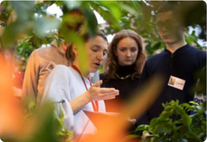 Благодарность волонтерам проекта «Инклюзивный клуб семейного садоводства и эко-культуры «Планета цветов»